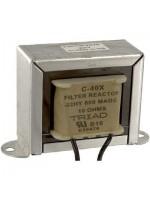 Inductor, Filter, Ind 0.32H, Tol -20%, +50%, Cur 600mA, Leads, DCR 10 Ohms
