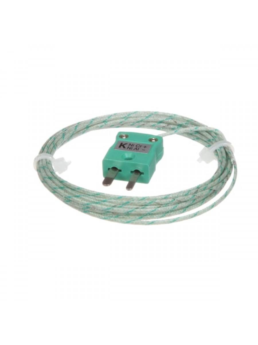 Thermocouple Type K 6.56 ft (2m) 662F (350C) Max Miniature Plug