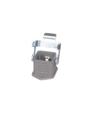 Hood/Housing 3 A Bulkhead Metal 3.2 mm 28 mm L x 40 mm W x 23 mm H
