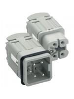Insert 600 V (UL CSA) 400 V (VDE) 250 V (SEV) 10 A Plug Male 3 &amp 4